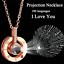 I-LOVE-YOU-in-100-languages-Pendant-Necklace-Romantic-Day-Valentine-039-s-Day-gifts thumbnail 1