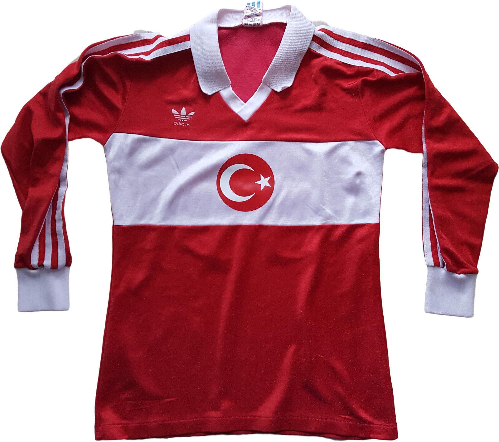 Vintage Adidas Tukey  10 1986-88 world cup ventex MAGLIA TRIKOT SHIRT