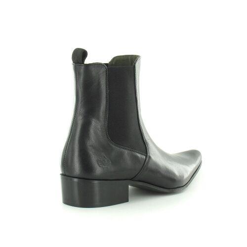 Ikon 3776 Revolver Mens 60S Black Leather Chelsea Boots 60S Mens Rock 150296