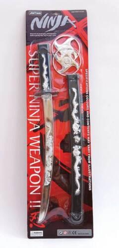 Toy Ninja Set Fancy Dress  FAKE PLASTIC #US Ninja Sword Set