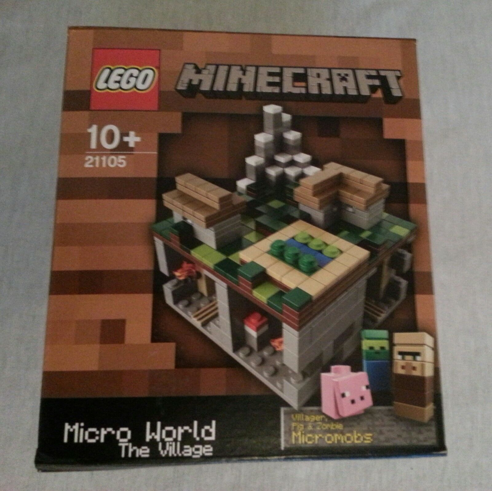 LEGO ® CUUSOO 21105 MINECRAFT THE VILLAGE NUOVO & SCATOLA ORIGINALE/NEW SEALED