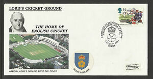 GB 1994 SUMMERTIME LORD'S CRICKET GROUND FDC Derbyshire Pictorial Postmark