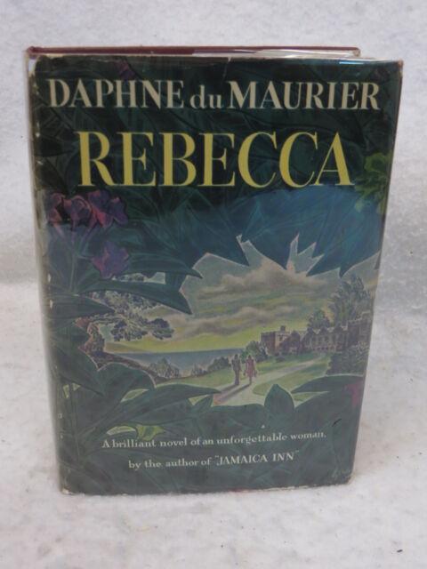 Daphne du Maurier  REBECCA  1939 HC/DJ Doubleday, Doran, NY Early Printing