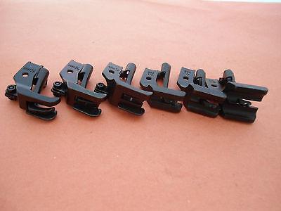 Total 5 Size : 1//8, 3//16, 1//4, 5//16, 3//8 LU-1508 LU-563 DNU-241 DNU-1541 S95 NGOSEW Double Welting Piping Cording Walking Foot for Juki LU-562