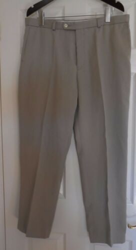 Beige Mens Trousers Size 38R