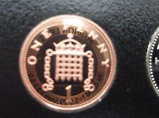 1983 e 1984 1P prova di monete. basso CONIO delle prove. perfetto esempi