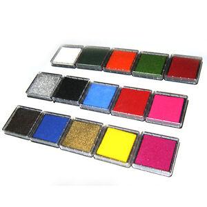 Neu 1 pc Stempelkissen groß   verschiedene Farben **NEUWARE**