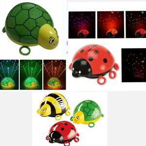 Turtle-Bee-Light-Night-Lamp-Lullaby-Star-Starlight-Galaxy-Nightlight-Projector