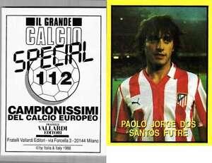 FUTRE-Atletico-Madrid-RARA-EDIZIONE-ITALIANA-1988-CALCIO-NUOVO-grande-CALCIO-N-112