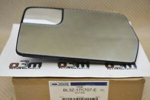 2011 2014 Ford F 150 Left Hand Driver Side Mirror Glass Heated New