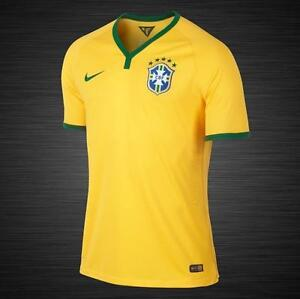f3f2b054f NWT Authentic  150 Oficial Nike 2014 Brasil CBF Mens Soccer Football ...