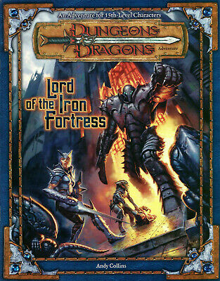 Affidabile Signore Della Fortezza Di Ferro Per 3rd Edition (d&d Dungeons & Dragons)-mostra Il Titolo Originale