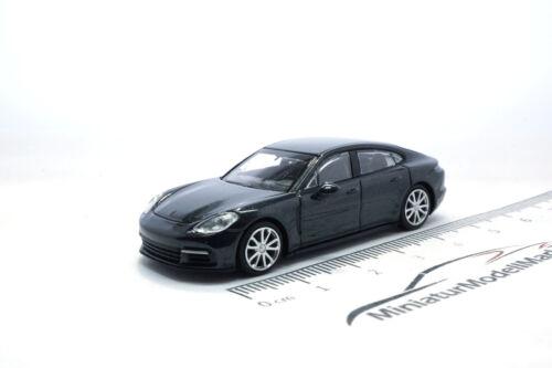2015-1:87 #870067100 Grau Metallic Minichamps Porsche Panamera