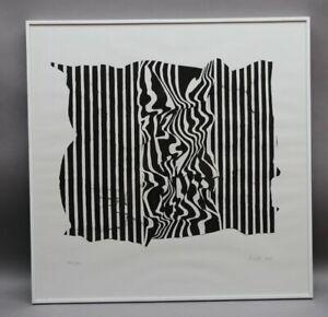 Künstler der Moderne 1998 - OP ART - Abstrakte Komposition - Sammlungsauflösung