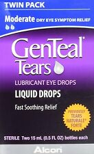 Genteal Tears Naturale Forte Lubricant Eye Drops 30 ML Each