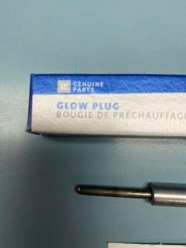 Genuine GM 12639701 Diesel Glow Plug LMM LML LBZ Silverado Sierra Duramax 6.6L