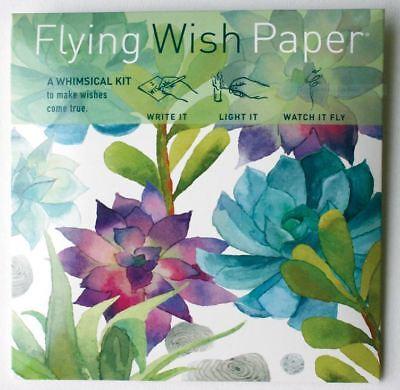 FLYING WISH PAPER CACTUS GARDEN Design Sale Lowest Price srp $11.95