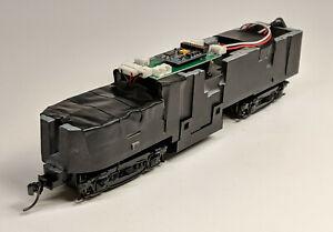 HO-C-Liner-A-Unit-Chassis-w-DCC-amp-Kadee-039-s-Fits-True-Line-amp-Proto-1000-Shells