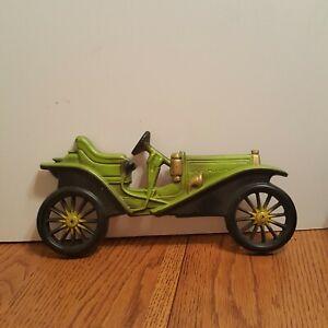Vintage-Midwest-Cast-Metal-Antique-Car-Auto-Plaques-Decor-Wall-Hanging