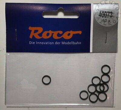 Ricambi H0: Roco 40073 Anelli Di Aderenza 8,8-10,2 Mm (conf. 10 Pz) Qualità E Quantità Assicurate