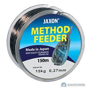 Jaxon Angelschnur Monolith Match Monofile Schnur 150m Spule