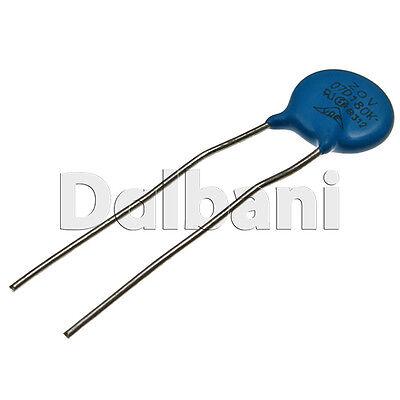 Dependent Resistor 7mm 20pcs 07D821K Metal Oxide Varistor Volt