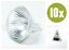 10-x-Halogenlampe-MR11-12V-35W-Kaltlichtspiegellampe Indexbild 1