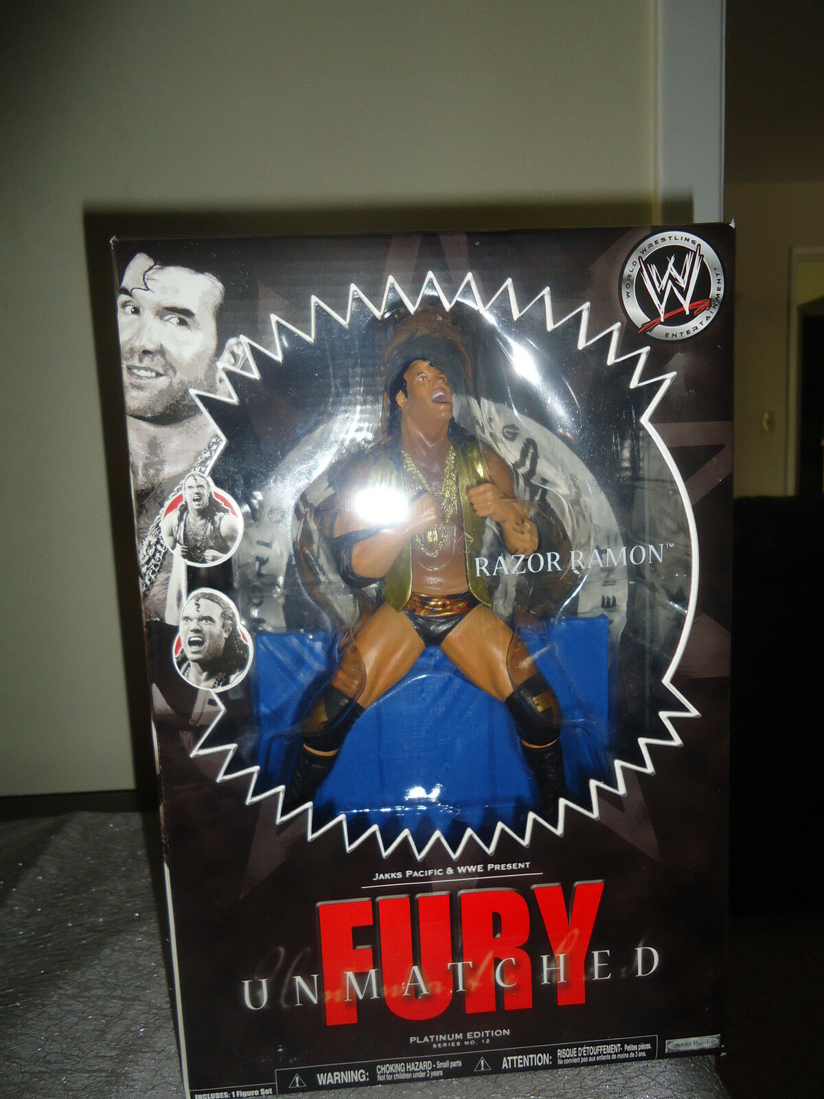 WWE Unmatched Fury Razor Ramon Platinum Series- Scott Hall Collectable