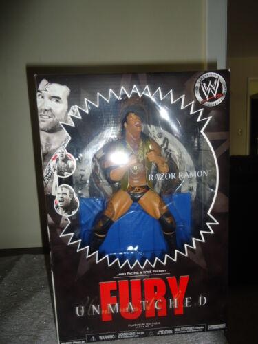 WWE Unmatched Fury Razor Ramon Platinum Series Collectable