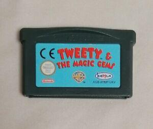 Video Juego-Nintendo Gameboy Advance * cartucho * Tweety & The Magic Gemas PAL
