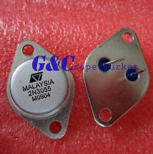50Pcs-2N3055-TO-3-NPN-Transistor-de-potencia-de-Audio-Amplificador-AF-15A-60V