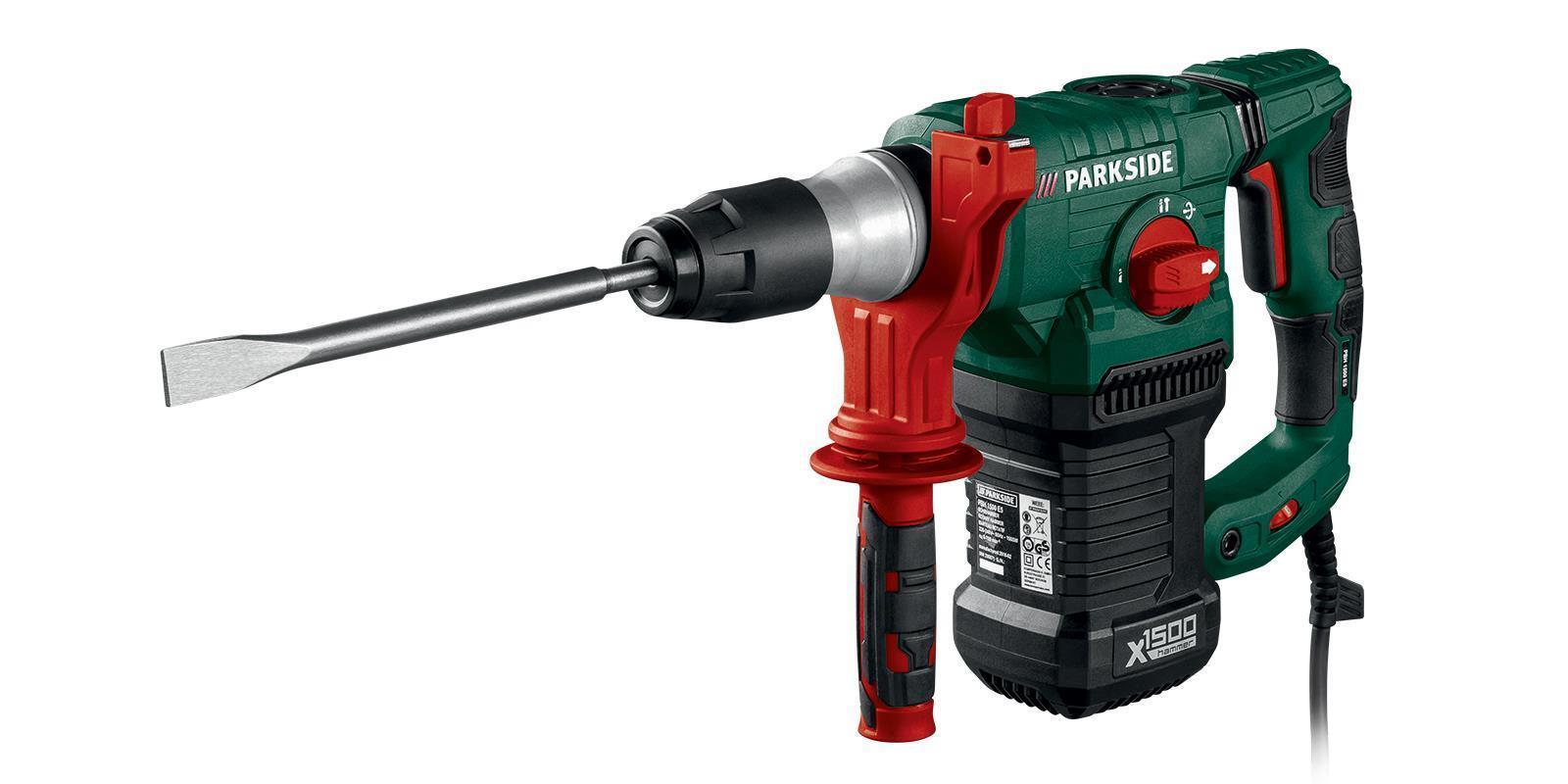 Bohr- und Meisselhammer PBH 1500 E5 Bohrhammer Parkside B-Ware