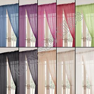 Tony\'s Textiles - 2 rideaux Lucy style voilage - passe-tringle ...