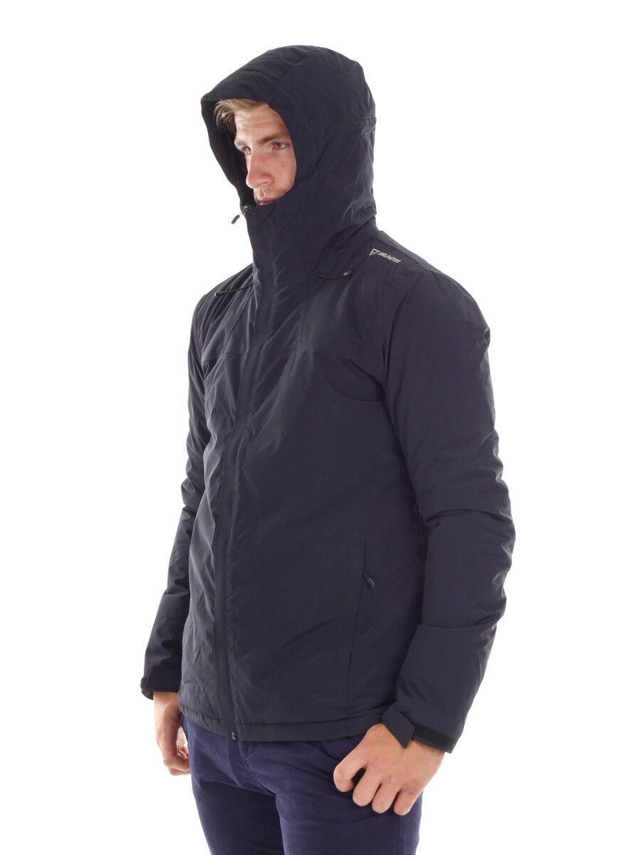 BRUNOTTI Veste de à Loisirs et Sports veste à de capuche noir Alabama respirant f5fedb