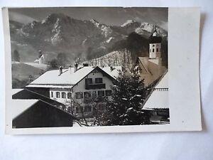 Ansichtskarte-A-Fink-Gasthof-z-Schmied-Kochel-am-See-Nr-597