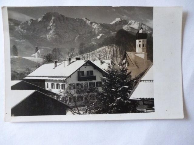 Ansichtskarte A... Fink Gasthof z. Schmied Kochel am See (Nr.597)