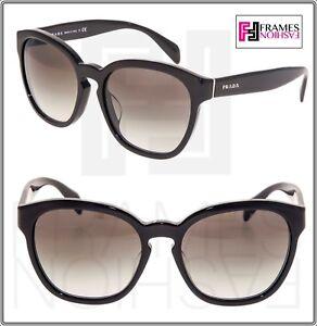 44de92759d41 Image is loading PRADA-PHANTOS-PR17RSF-Shiny-Black-Grey-Gradient-Sunglasses-