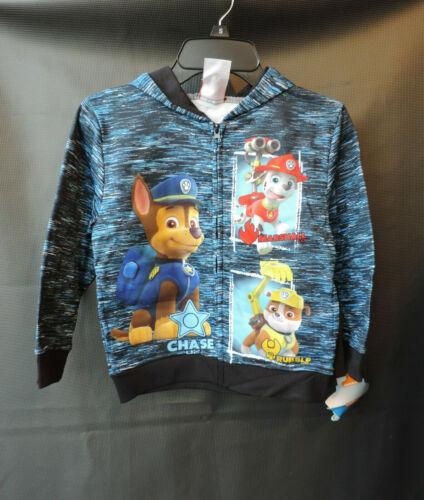 Paw patrol kids Boys zip up Hoodie jacket SIZE 4 5 6 7