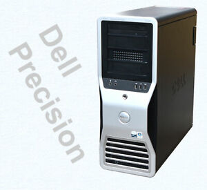 Workstation-dell-Precision-Xeon-3GHz-SAS-Controller-nvidia-Quadro-FX4600-8GB-RAM