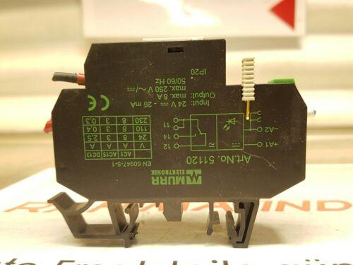 MURR Elektronik Relaismodul ART.NO 51120