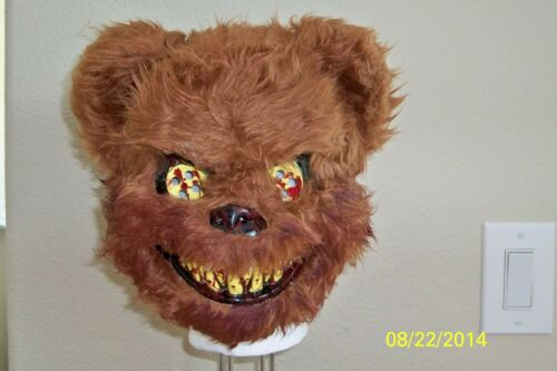 TED DEADY BEAR BLOODY TEETH CREEPY SCARY HORROR VACUFORM MASK COSTUME MR131156