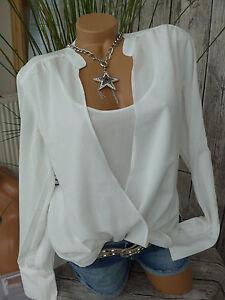 Travel-Couture-Bluse-Shirt-Gr-34-46-328-Vokuhila-2-in-1-Effekt