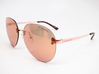 Michael Kors MK 1037 Sydney 1108R1 Rose Gold wRose Gold Flash Sunglasses 725125000673 | eBay