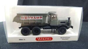 Wiking-086636-Muldenkipper-Kaelble-Heitkamp-H0-1-87-DK-47-Neu-in-OVP