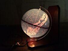lampe globe celeste design vintage 60 GRANGE BATELIERE 1967 astrologie étoiles