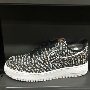 012de8cd0112b3 Nike Air Force 1 '07 LV8 JDI Sneakers Skateboard Black AO6296-001 Sz ...