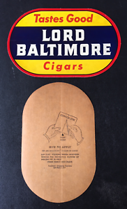 1950-039-s-Lord-Baltimore-Cigar-Store-Window-Door-Decal