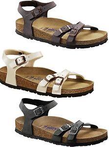 Newest Birkenstock Kumba Flor W Black Womens Sandals Outlet UK1174