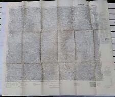 Karte Deutsches Reich - Großblatt 90: Spremberg - Sorau - Kohlfurt (1940)