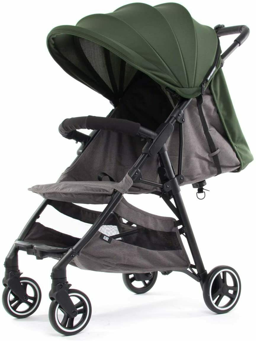 Baby Monsters Silla de Paseo Ligera Kuki 2 2020 Pack Color Forest-Danielstore